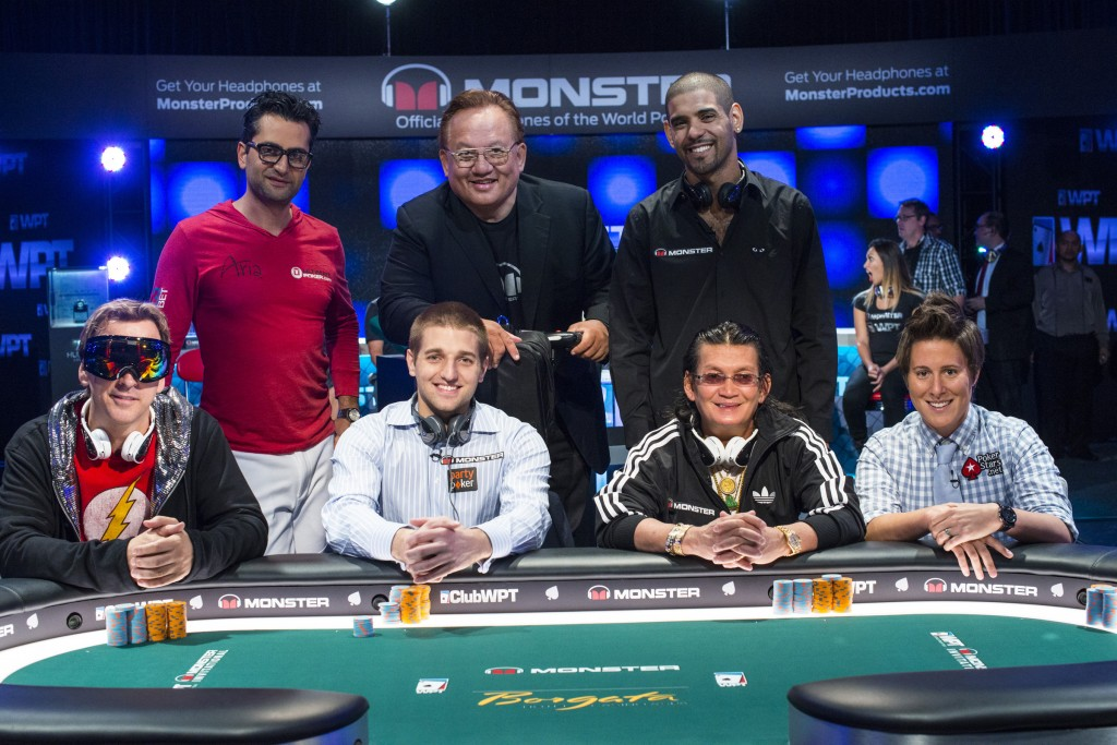 Antonino Esfandiari, Vanessa Selbst, Scotty Nguyen, David Williams, Tony Dunst, Phil Laak