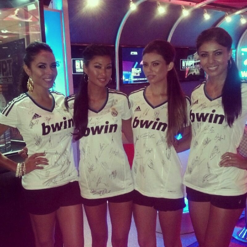 best service fe346 e7367 WPT Foundation Charity Auction: Signed Real Madrid Jerseys ...