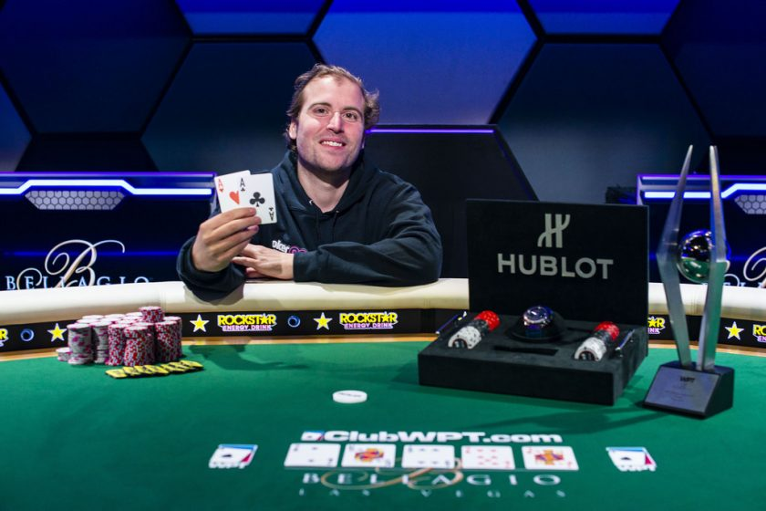 Tom Marchese Breaks In Esports Arena Las Vegas, Wins WPT Bellagio High Roller for $432,000