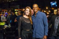 2018 Tigers Poker Night WPT Lynn Gilmartin Tiger Woods