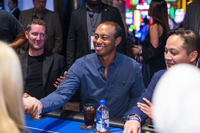 Tiger Woods eliminated from poker action