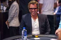 Vince Van Patten lookin' cool at the table