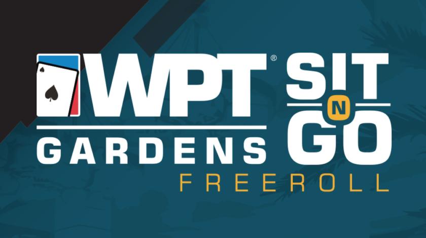WPT Gardens Sit-N-Go Freeroll
