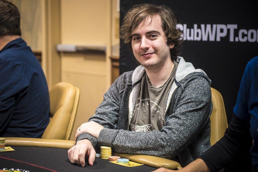 Daniel Strelitz at the WPTDeepStacks San Diego Final Table - WPT, World Poker Tour - Photo by Drew Amato