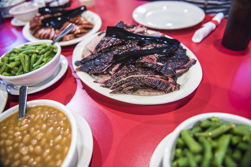 We check out Red River BBQ in Katy Texas - World Poker Tour, WPT, Texas - Photo by Drew Amato