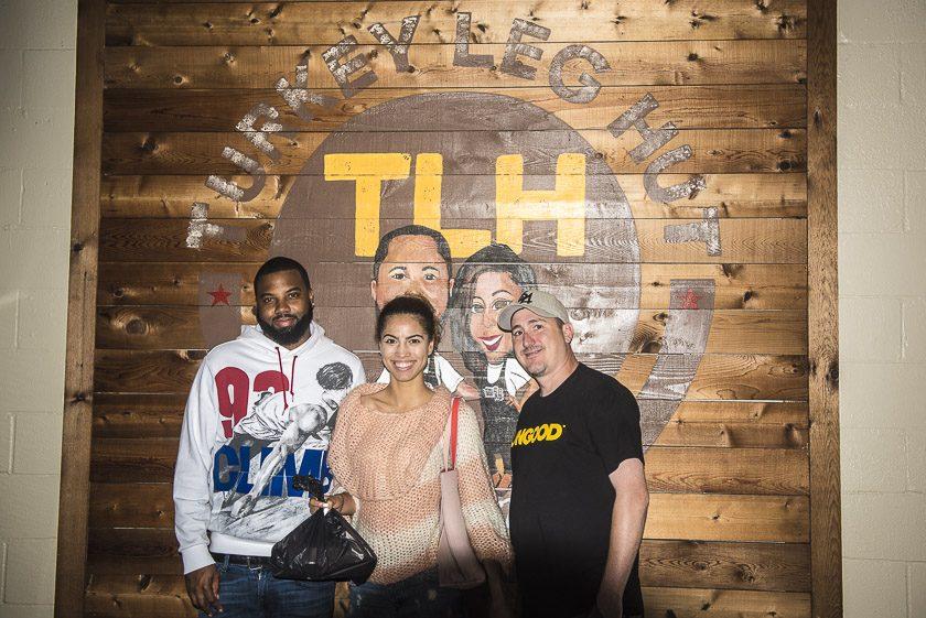 Next up was the turkey leg hut in downtown Houston, Texas - World Poker Tour, WPT, Texas - Photo by Drew Amato