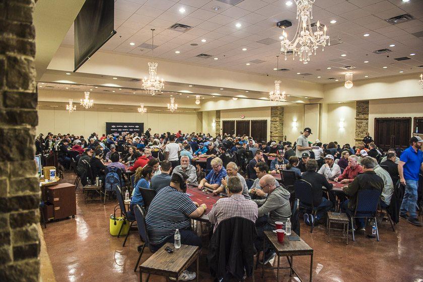 The Field at WPTDeepStacks Houston - World Poker Tour, WPT, Texas - Photo by Drew Amato