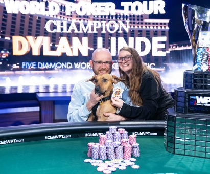 Dylan Linde Five Diamond World Poker Classic