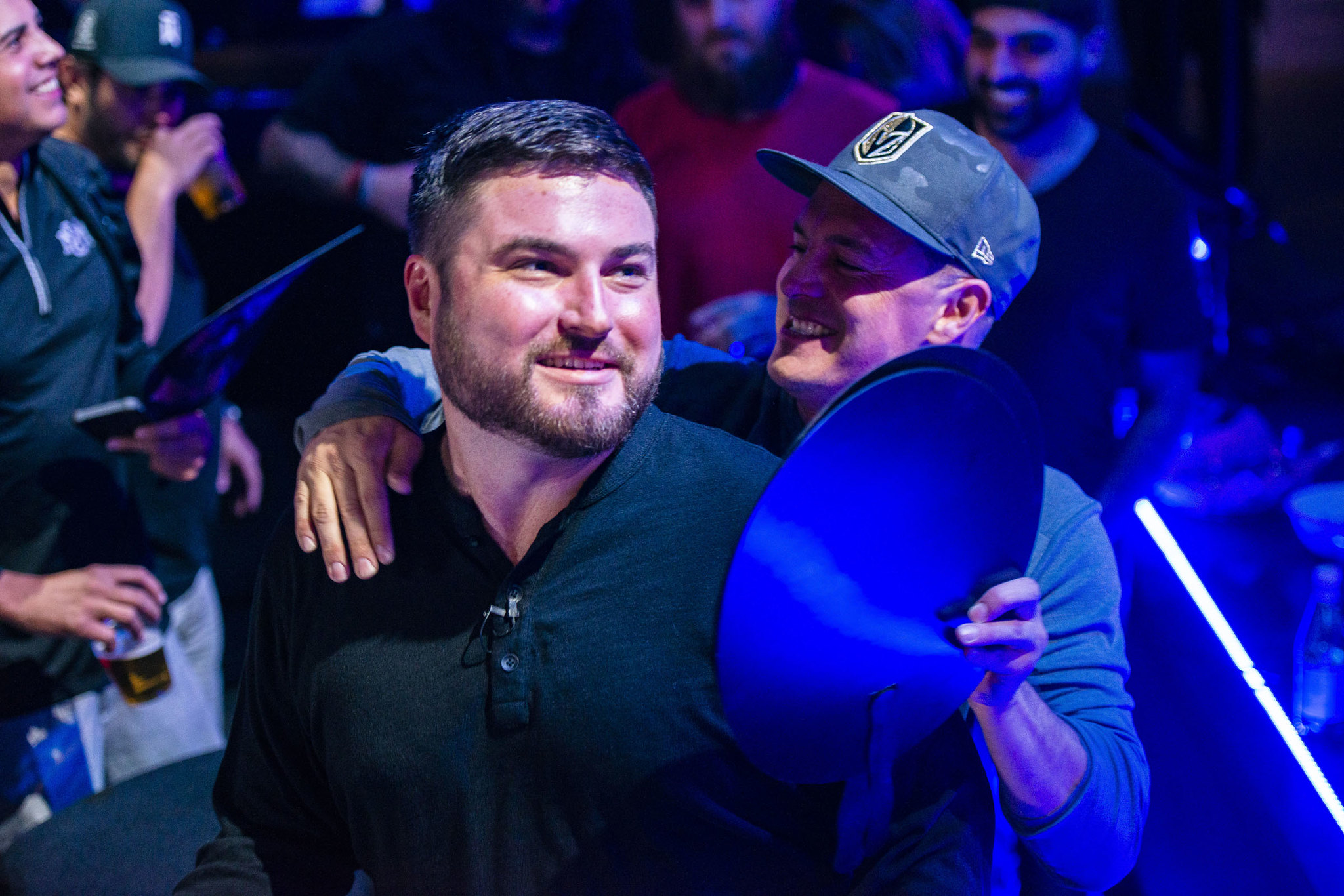 Champion James Carroll WPT Seminole Hard Rock Poker Showdown