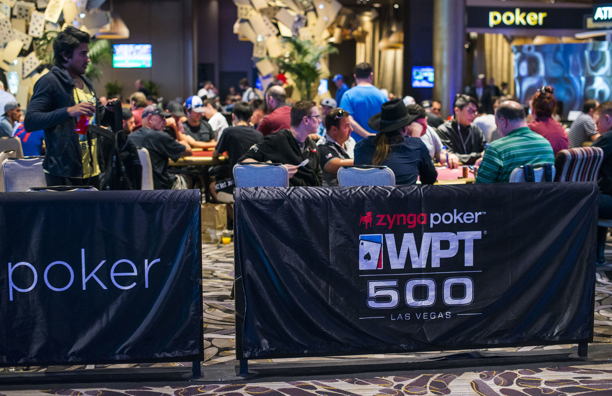 Tournament Area Branding WPT500 Las Vegas Season 17