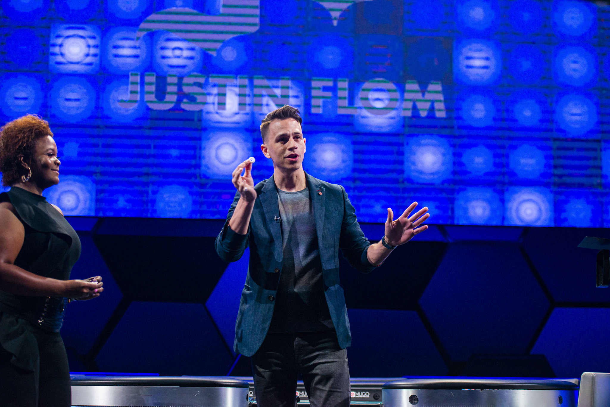 Justin Flom WPT Champions Cup Finals