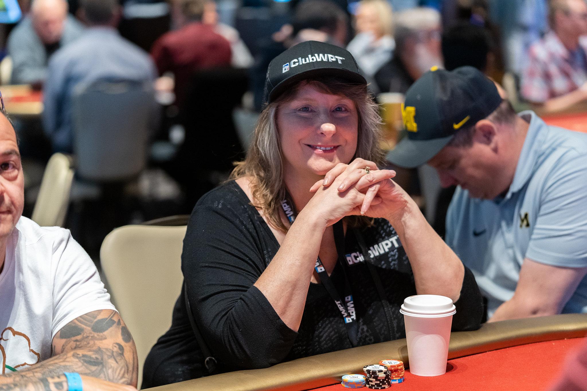 GAYLE KNORR ClubWPT Zynga Poker WPT500