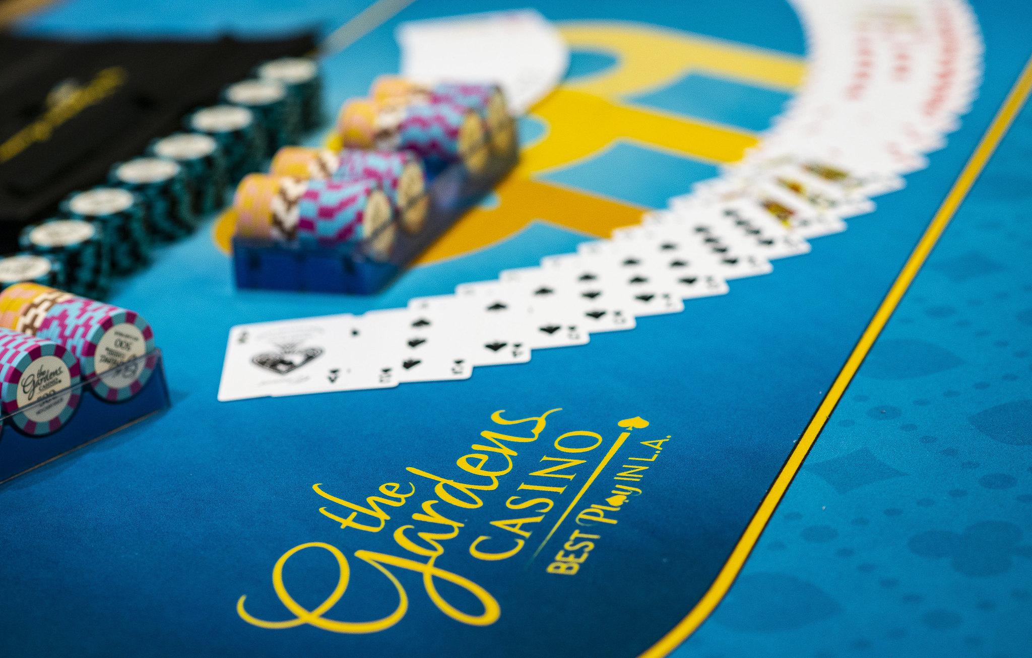 Branding, Chips, Cards WPT Gardens Poker Festival Season XVIII