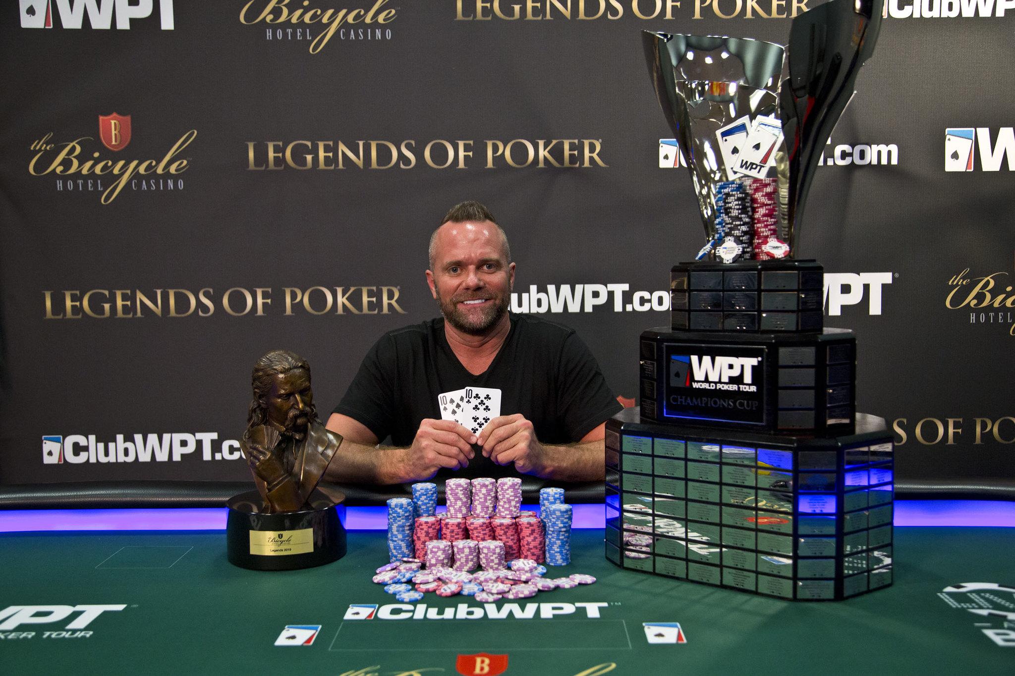 Aaron Van Blarcum WPT Legends Of Poker 2018-2019