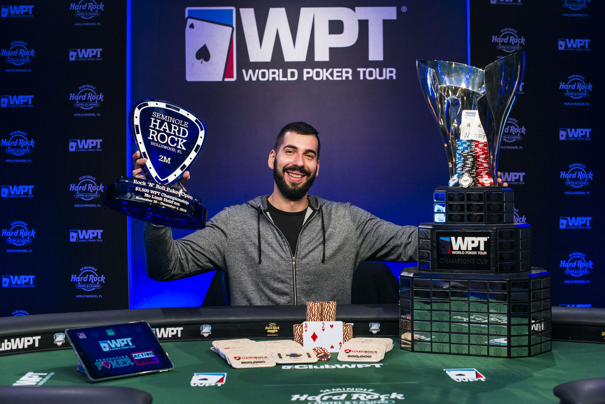 Champion Milen Stefanov WPT Seminole Rock N Roll Poker Open Season 2019-2020
