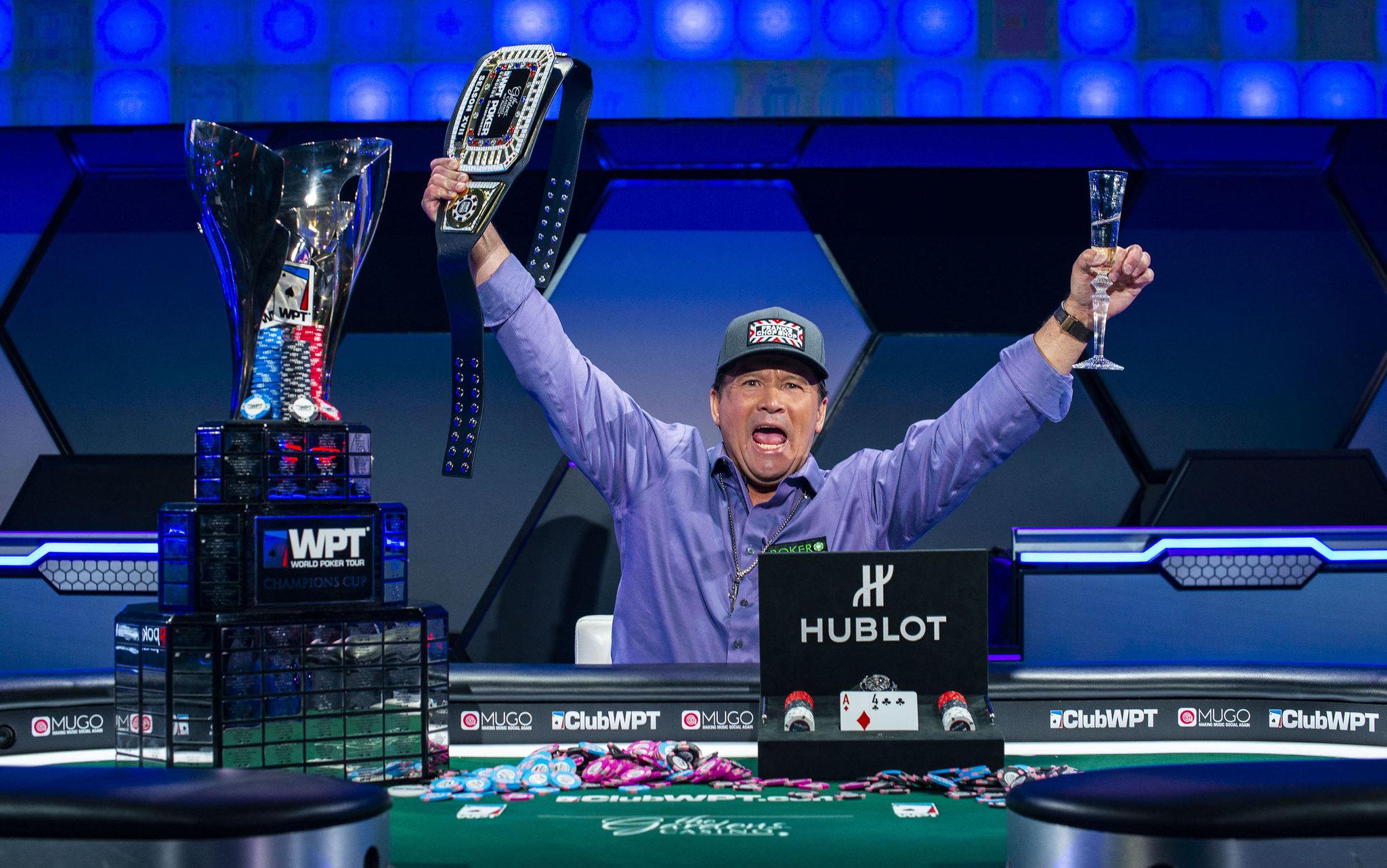 Champion Frank Stepuchin WPT Gardens Poker Championship Season 18