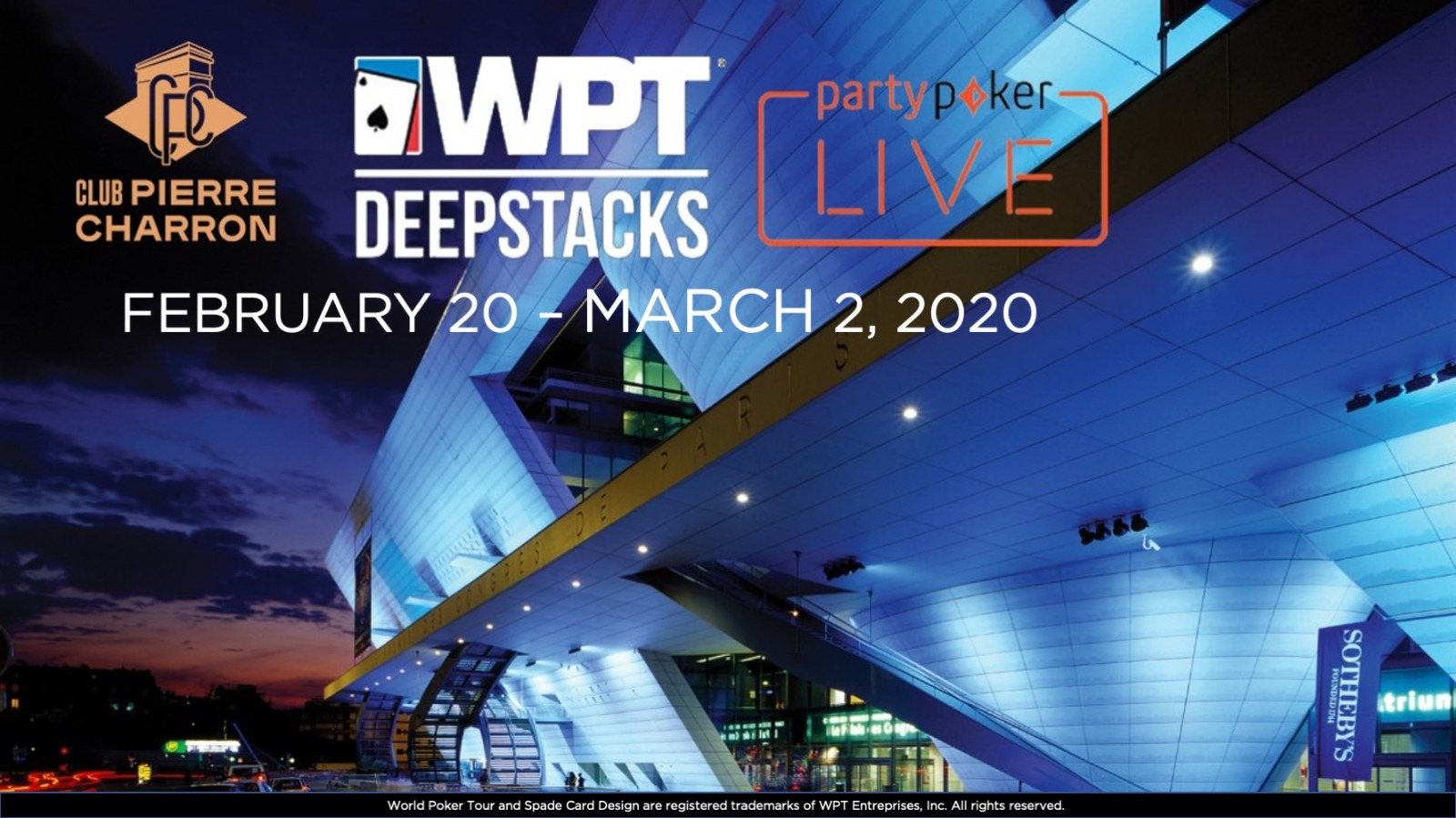WPTDeepStacks Paris