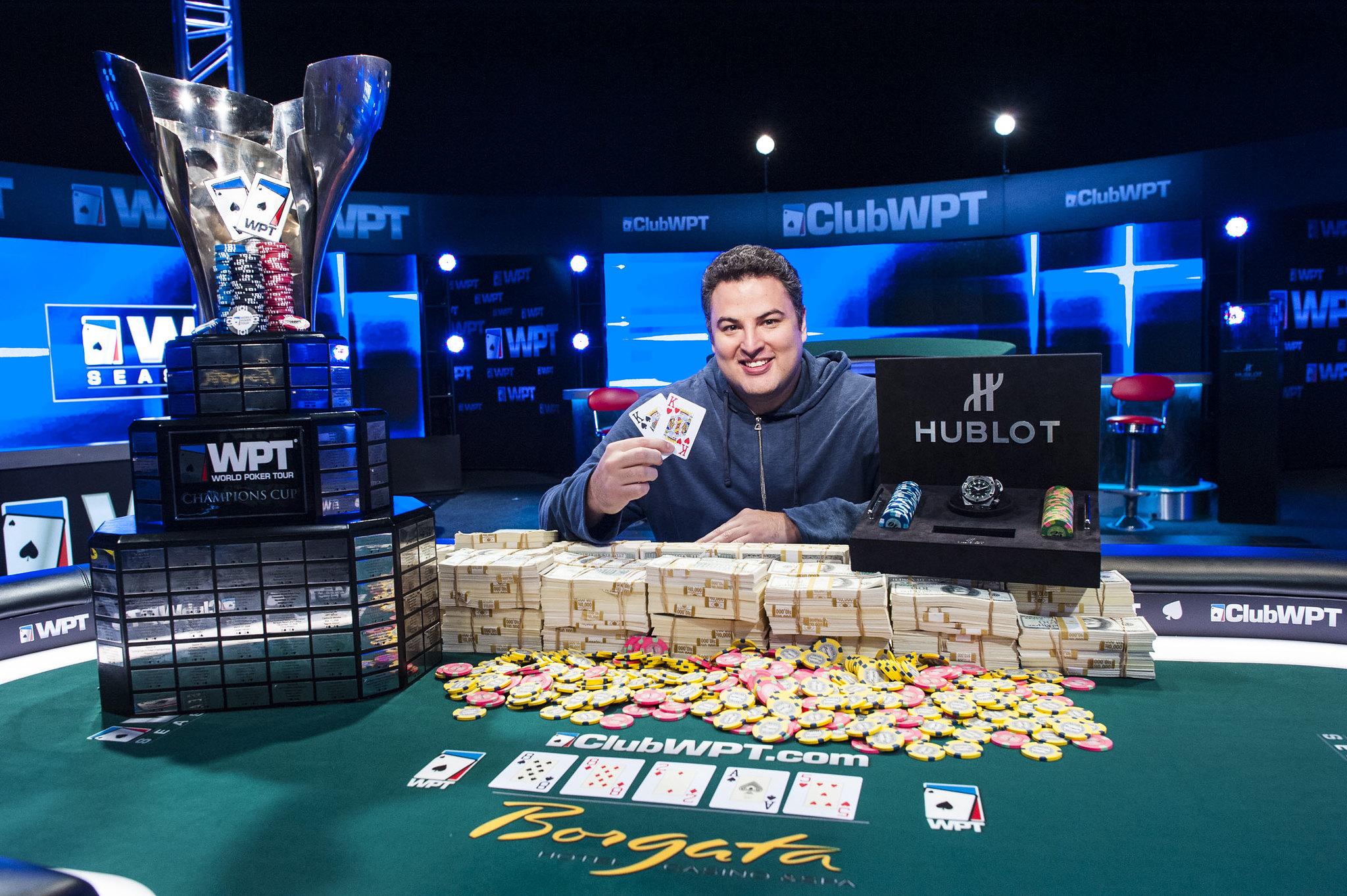 David Paredes WPT Borgata Poker Open Step Back in Time