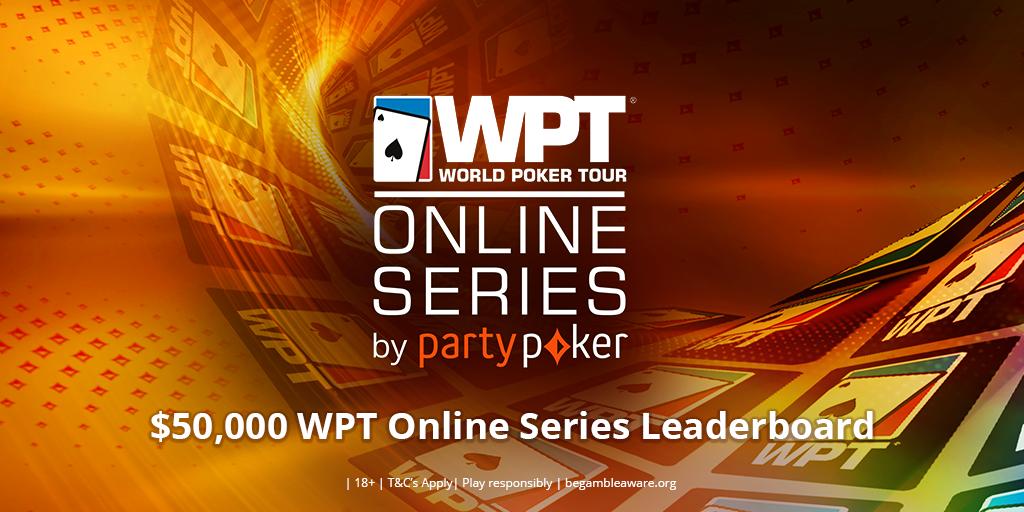 WPT Online Series Leaderboard