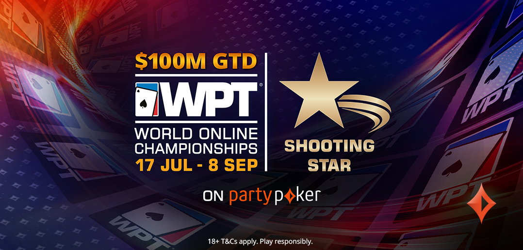 WPT Shooting Stars for Charity Event WPT World Online Championships partypoker