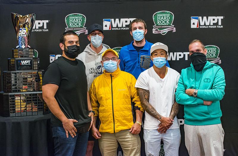 WPT Seminole Hard Rock Poker Showdown Final Table